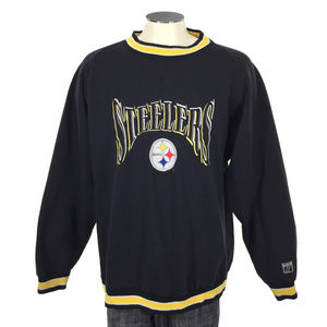 Pittsburgh Steelers Sweatshirt VTG 90s Logo 7